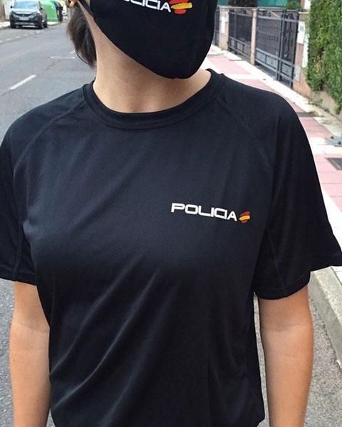 Camiseta Técnica de Policía Nacional