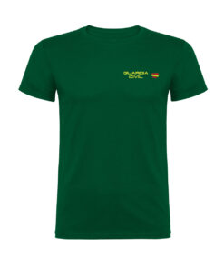 Camiseta Algodon Guardia Civil Verde