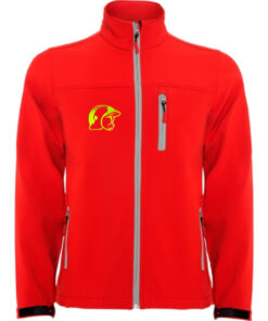Chaqueta roja Logo 4