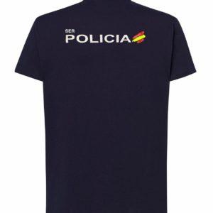 Camisetas Algodón Policía Nacional