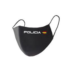Mascarilla policia Nacional
