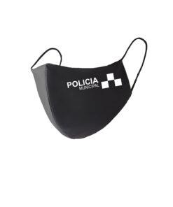Mascarilla policia municipal