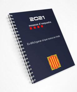 agenda 2021 para mossos