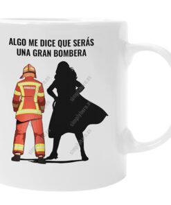 TAza opositores bombero