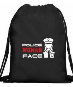 Mochila cuerdas policia mujer